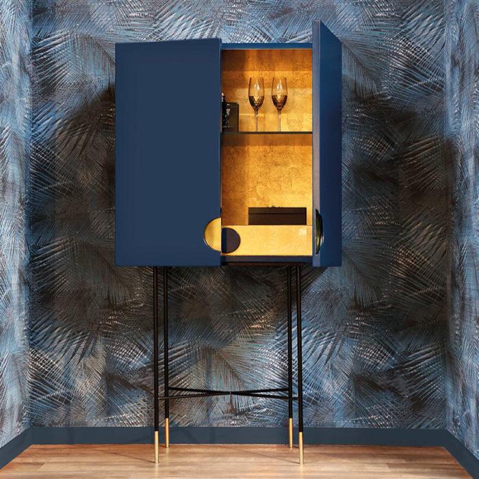 Mobilier : Bar Cabinet Alba - Benny Benlolo Ensemblier Décorateur à Paris