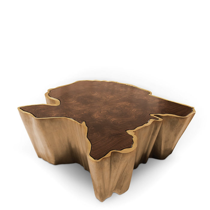 Mobilier : Table basse Sequoia  - Benny Benlolo Ensemblier Décorateur à Paris