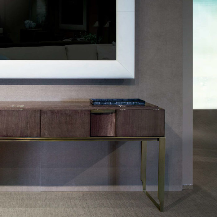 Mobilier : Console Paris - Benny Benlolo Ensemblier Décorateur à Paris