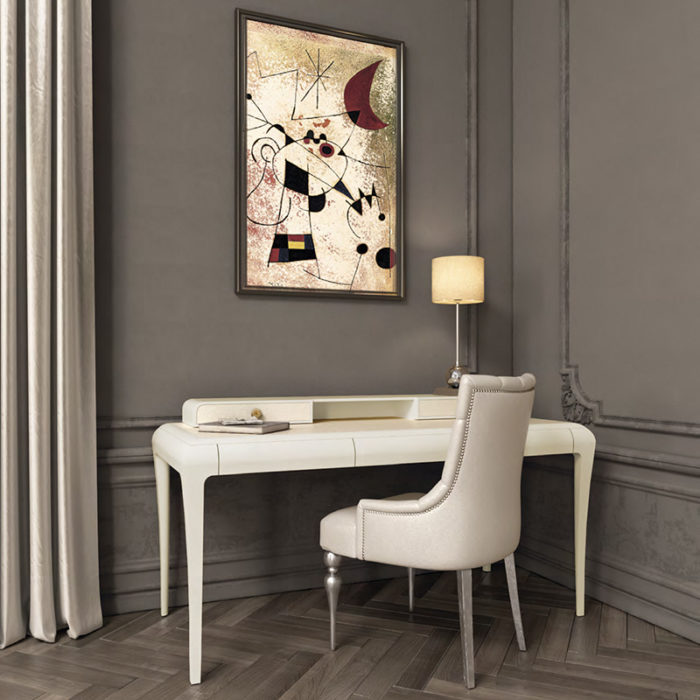 Mobilier : Bureau Manhattan - Benny Benlolo Ensemblier Décorateur à Paris