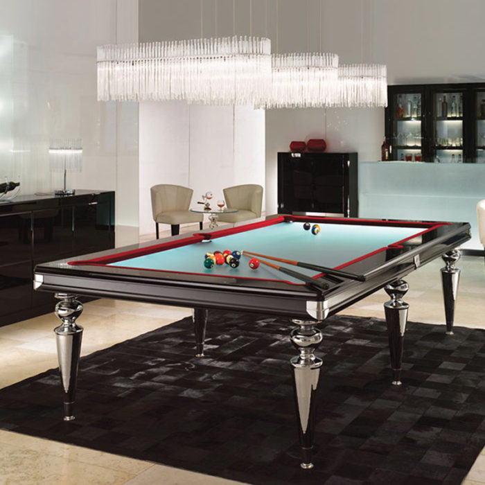 Mobilier : Table de Billard - Benny Benlolo Ensemblier Décorateur à Paris