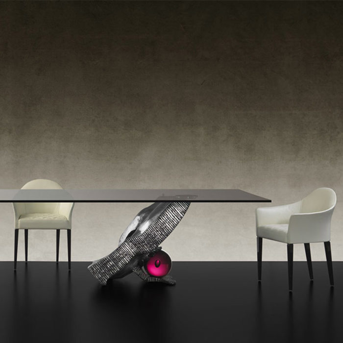 Mobilier : Table à manger Impact - Benny Benlolo Ensemblier Décorateur à Paris