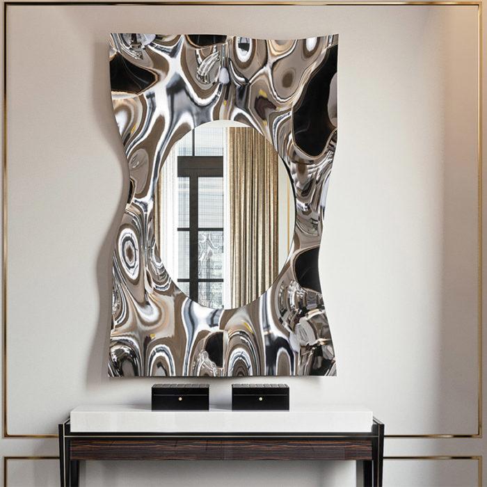 Mobilier : Miroir Impact - Benny Benlolo Ensemblier Décorateur à Paris