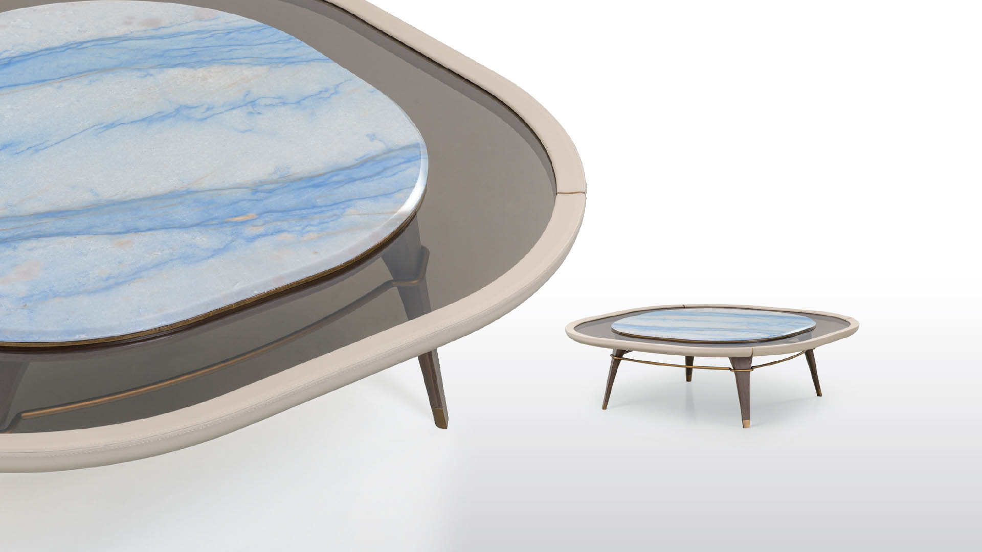 Tables basses luxe